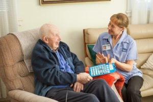 Care Worker in-home care Oxley Home Care