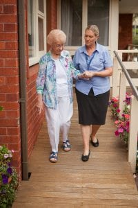 Falls Prevention Female Carer