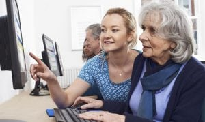 Staying Connected Online while living with dementia