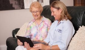 Aged care social support in the home