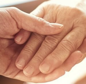 Nursing Care, elderly hands, Oxley Home Care