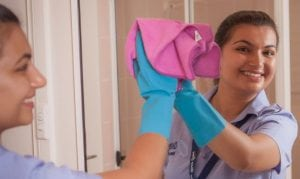Oxley Home Care Level 1 Home Care Package clients home being cleaned