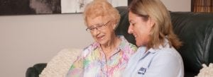 Home Care, Home Care Manager assesses client, Oxley Home Care