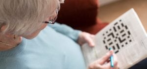 One way to prevent dementia - keep your brain active by doing crosswords