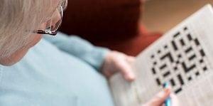 Prevent dementia by doing crosswords